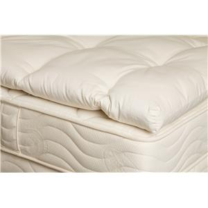 "Organic Mattresses, Inc. (OMI) 3"" Wooly Twin XL Mattress Topper"