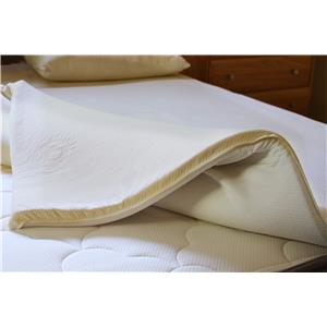 "Organic Mattresses, Inc. (OMI) 2"" Verona King Mattress Topper"