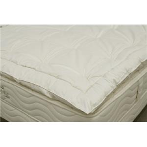 "Organic Mattresses, Inc. (OMI) 1.5"" Wooly Cal King Mattress Topper"