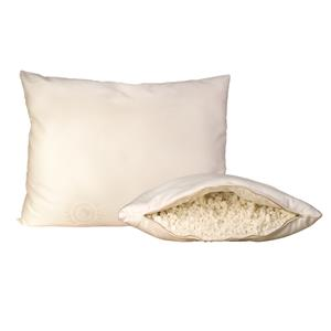 Organic Mattresses, Inc. (OMI) Shredded Latex Pillows King Shredded Latex Rubber Pillow