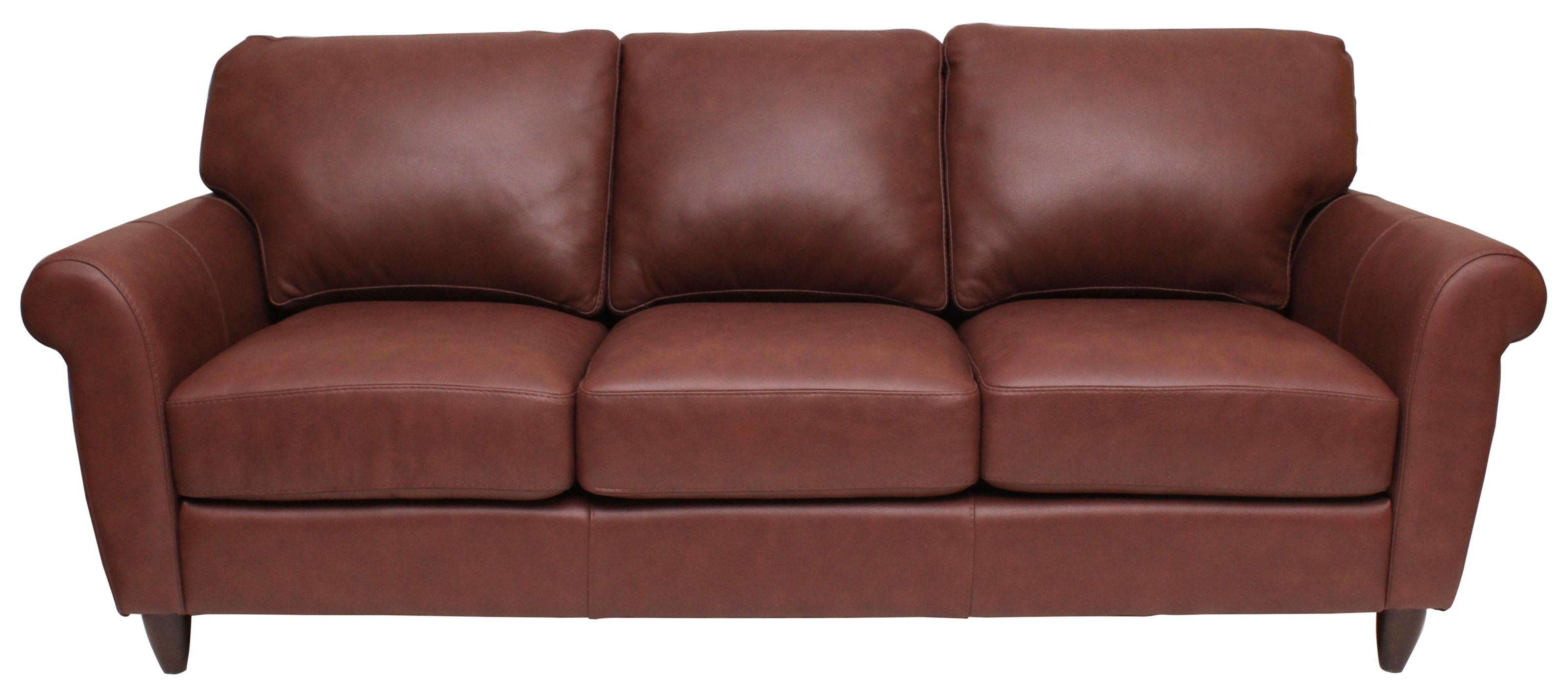 Cameo Sofa by Omnia Leather at HomeWorld Furniture