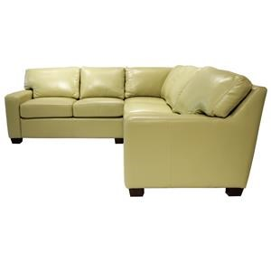 Omnia Leather Albany Sectional