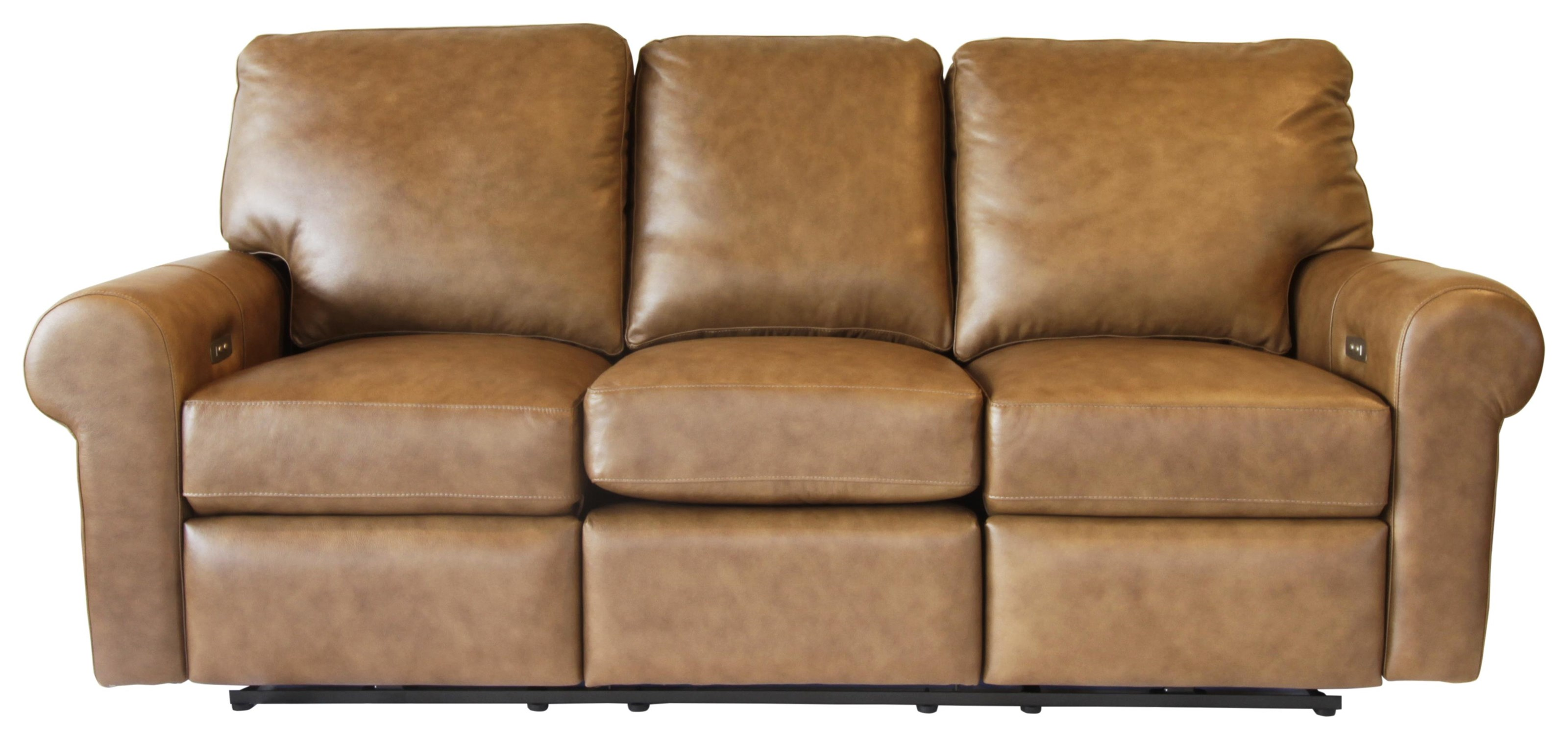 Omnia Leather Paramount Power Reclining Sofa - Item Number: SOP53701