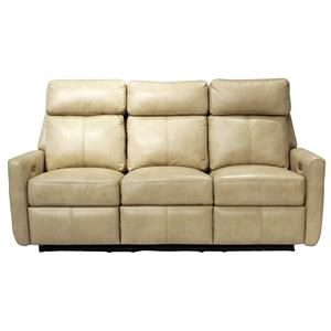 Omnia Leather Riverside Drive Power Reclining Sofa