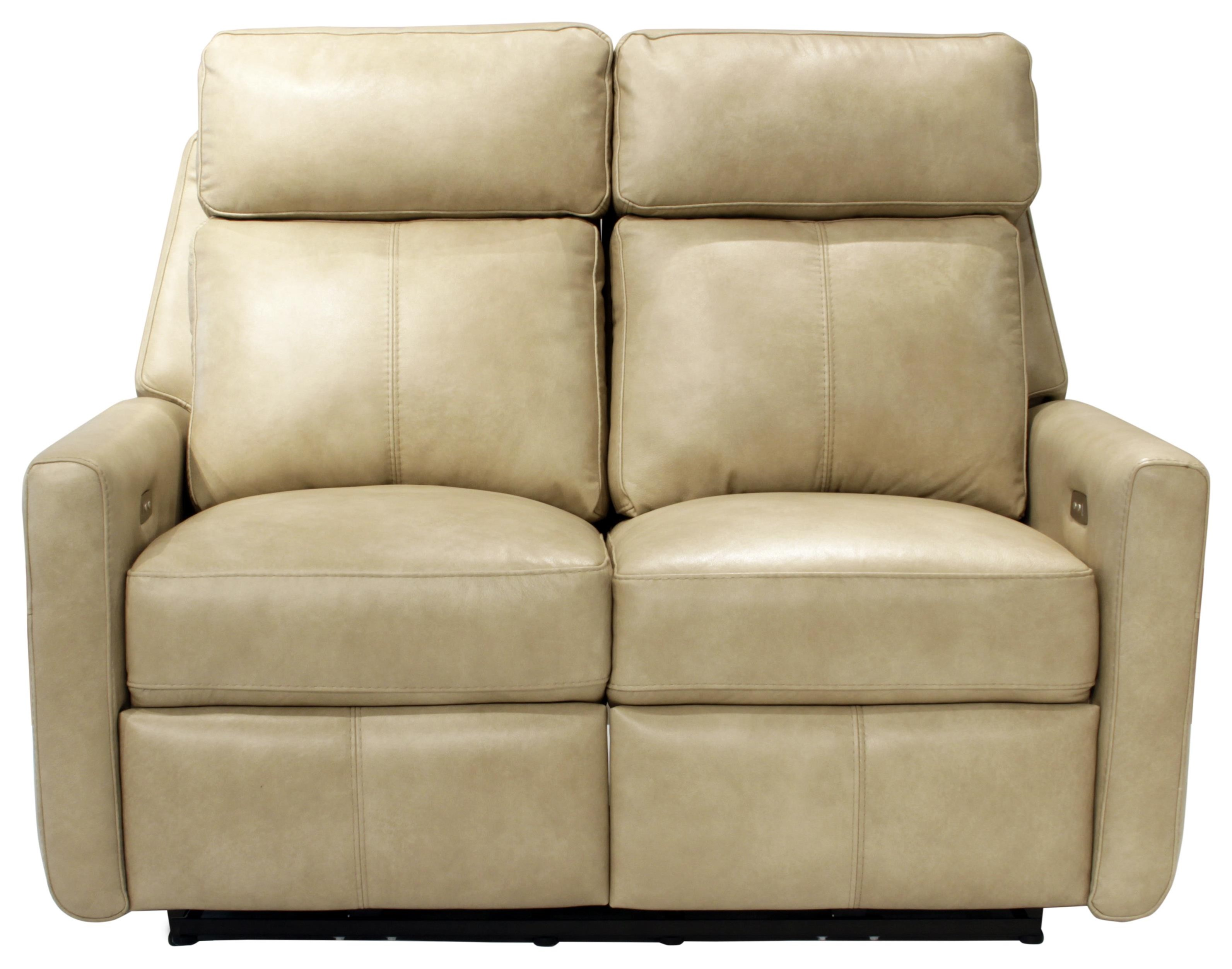 Omnia Leather Riverside Drive Power Reclining Loveseat   Item Number: 53113