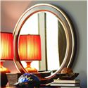 Opus Designs Aura Round Mirror - Item Number: 756-10-030