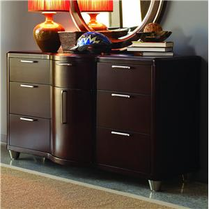 Aura Seven-Drawer & One-Door Dresser by Opus Designs