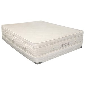 Organic Mattresses, Inc. (OMI) Pinnacle Queen Extra Plush Pillow Top Set