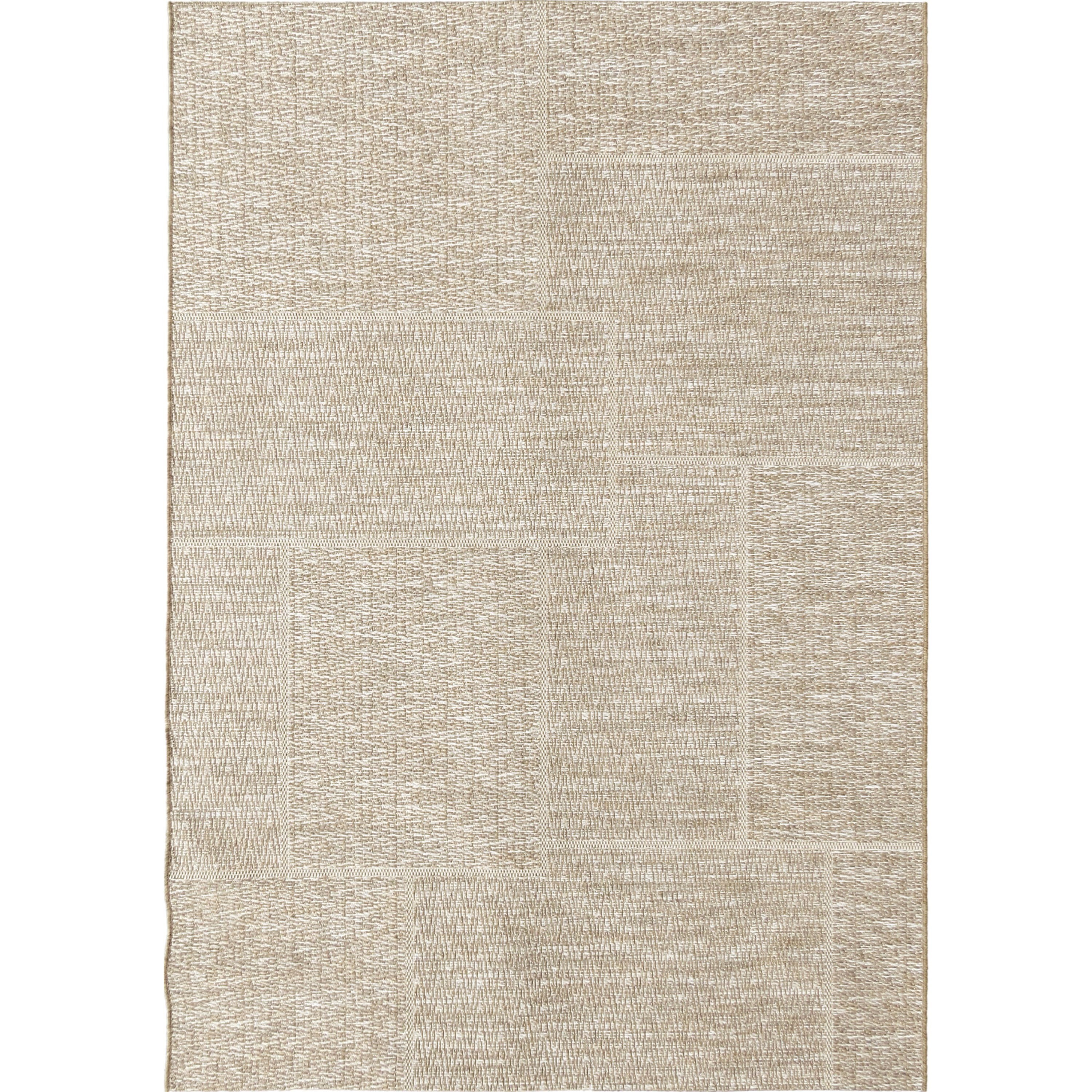 "Breeze Subtle Squares mink/cliff grey 5'1"" x 7'6"" R by Orian Rugs at Mueller Furniture"