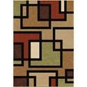 "Orian Rugs Four Seasons Turner Multi 7'8"" x 10'10"" Rug - Item Number: 1830 8x11"