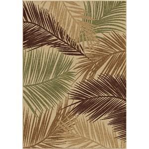 Bungalow Palms Bisque 5'2