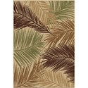 """Orian Rugs Four Seasons Bungalow Palms Bisque 7'8"""" x 10'10"""" Rug - Item Number: 1836 8x11"""