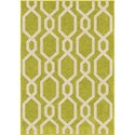 "Orian Rugs Kids Court Niagra Green 3'10"" x 5'2"" Rug - Item Number: 3117 4x6"