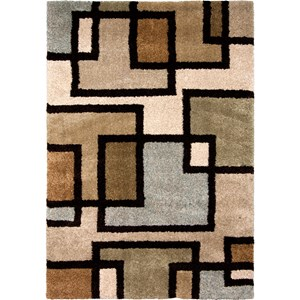 """Huffing Bisque 5'3"""" x 7'6"""" Rug"""