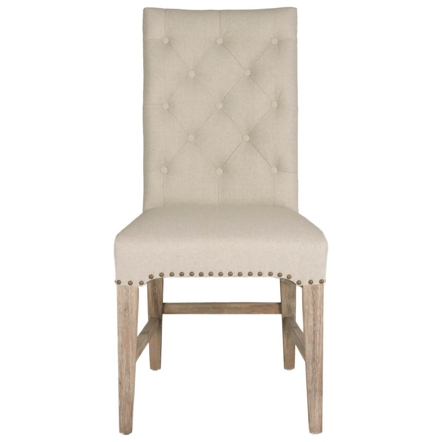 Orient Express Furniture Traditions Wilshire Dining Chair - Item Number: 6027SW-NAT