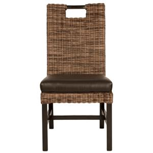 Orient Express Furniture Wicker Boston Dining Chair Se