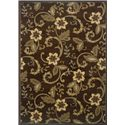 Oriental Weavers Amy Floral 8.2 X 10 Area Rug : Brown - Item Number: 969498748