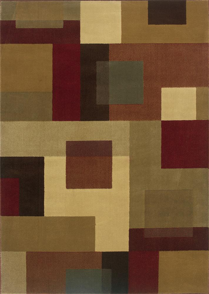 Oriental Weavers Amy Geometric 5 x 7.6 Area Rug : Multi - Item Number: 969498130