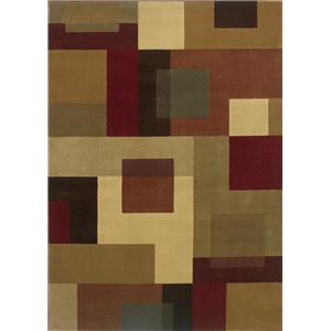 Oriental Weavers Amy Geometric 9.10 x 12.9 Area Rug : Multi
