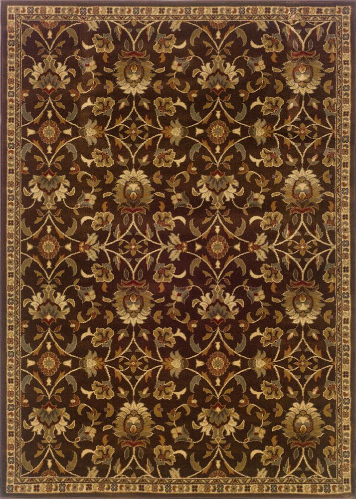 Oriental Weavers Amy 5 x 7.6 Area Rug : Brown - Item Number: 969498231