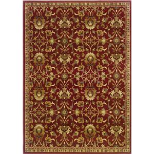 Oriental Weavers Amy Floral 10 x 13 Area Rug : Red