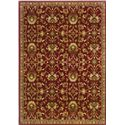 Oriental Weavers Amy Floral 10 x 13 Area Rug : Red - Item Number: 969498851