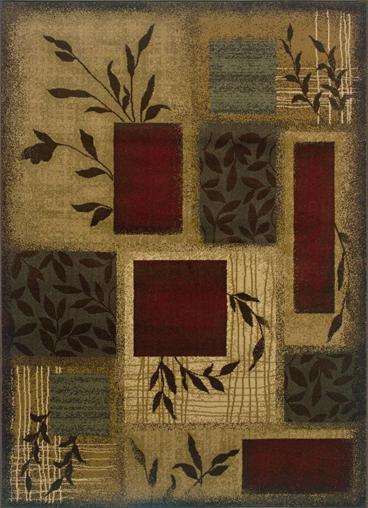 Oriental Weavers Amy 5 x 7.6 Area Rug : Multi - Item Number: 969498039