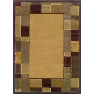 Oriental Weavers Amy 5 x 7.6 Area Rug : Gold