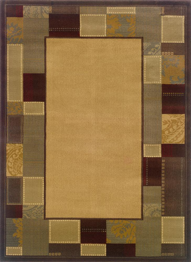 Oriental Weavers Amy 8.2 X 10 Area Rug : Gold - Item Number: 969498546