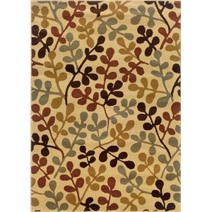 Oriental Weavers Amy 8.2 x 10 Area Rug : Beige