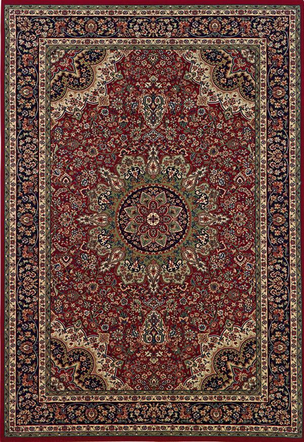 Oriental Weavers Aspire 7.10 x 11.2 Area Rug : Red/Black  - Item Number: 969005555