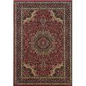 Oriental Weavers Aspire 6.7 x 9.6 Area Rug : Red/Black - Item Number: 969005567