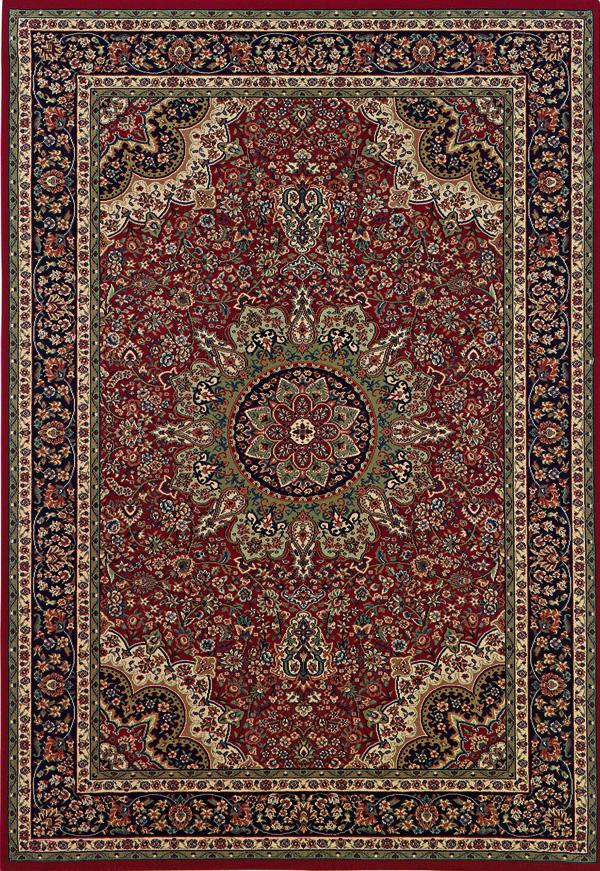 Oriental Weavers Aspire 10 x 12.7 Area Rug : Red/Black - Item Number: 969005579