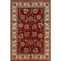 Oriental Weavers Aspire 10 x 12.7 Area Rug : Red - Item Number: 969005101