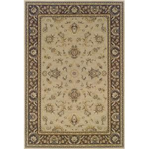 Oriental Weavers Aspire Bordered 7.10 x 11 Area Rug : Beige