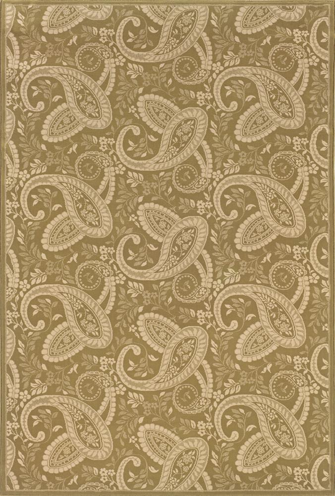 8 x 11 Area Rug : Gold