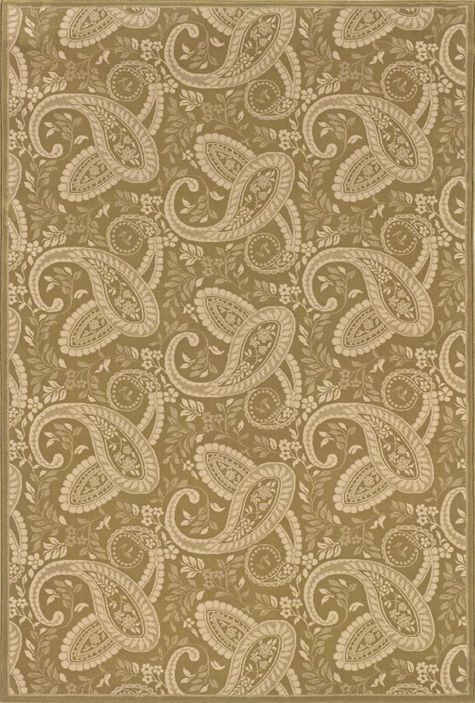 Oriental Weavers Aspire 10 x 13 Area Rug : Gold - Item Number: 969004589