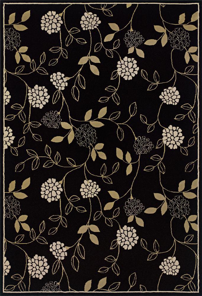 Oriental Weavers Aspire 8 x 11 Area Rug : Black - Item Number: 969004349
