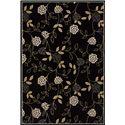 Oriental Weavers Aspire 10 x 13 Area Rug : Black - Item Number: 969004387