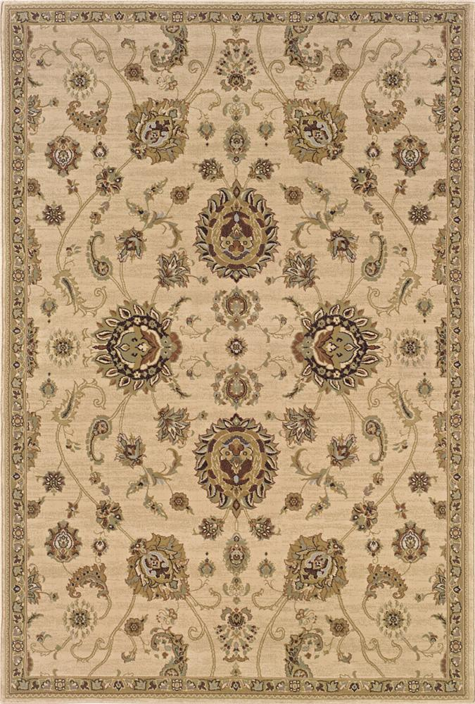 Oriental Weavers Aspire  10 x 11 Area Rug : Tan - Item Number: 969004654