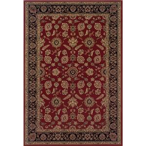 Oriental Weavers Aspire Bordered 10 x 12.7 Area Rug : Red