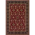 Oriental Weavers Aspire Bordered 10 x 12.7 Area Rug : Red - Item Number: 969009387