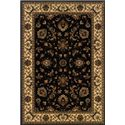 Oriental Weavers Aspire 6.7 x 9.6 Area Rug : Black - Item Number: 969018146