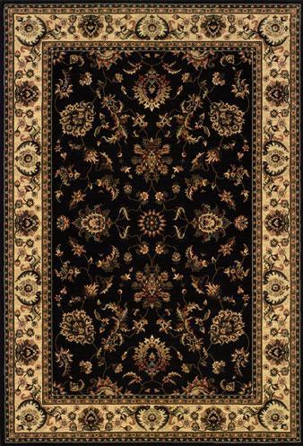 Oriental Weavers Aspire 7.10 x 11.2 Area Rug : Black - Item Number: 969018158