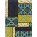 Oriental Weavers Casper 8 x 11 Area Rug : Blue/Green - Item Number: 969092483