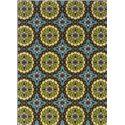 Oriental Weavers Casper 6.7 x 9.6 Area Rug : Blue/Lime - Item Number: 969094540