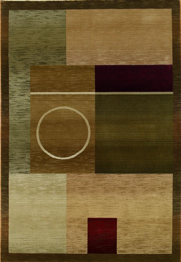 Oriental Weavers Glory Geometric 5.3 x 7.6 Area Rug : Multi - Item Number: 969508335