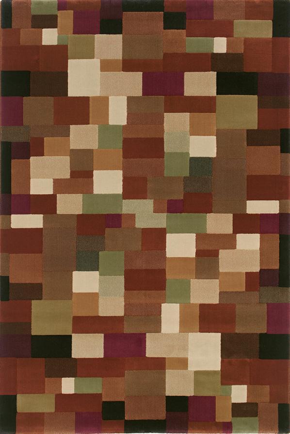 Oriental Weavers Grandeur 8 x 11 Area Rug : Brown - Item Number: 969215156