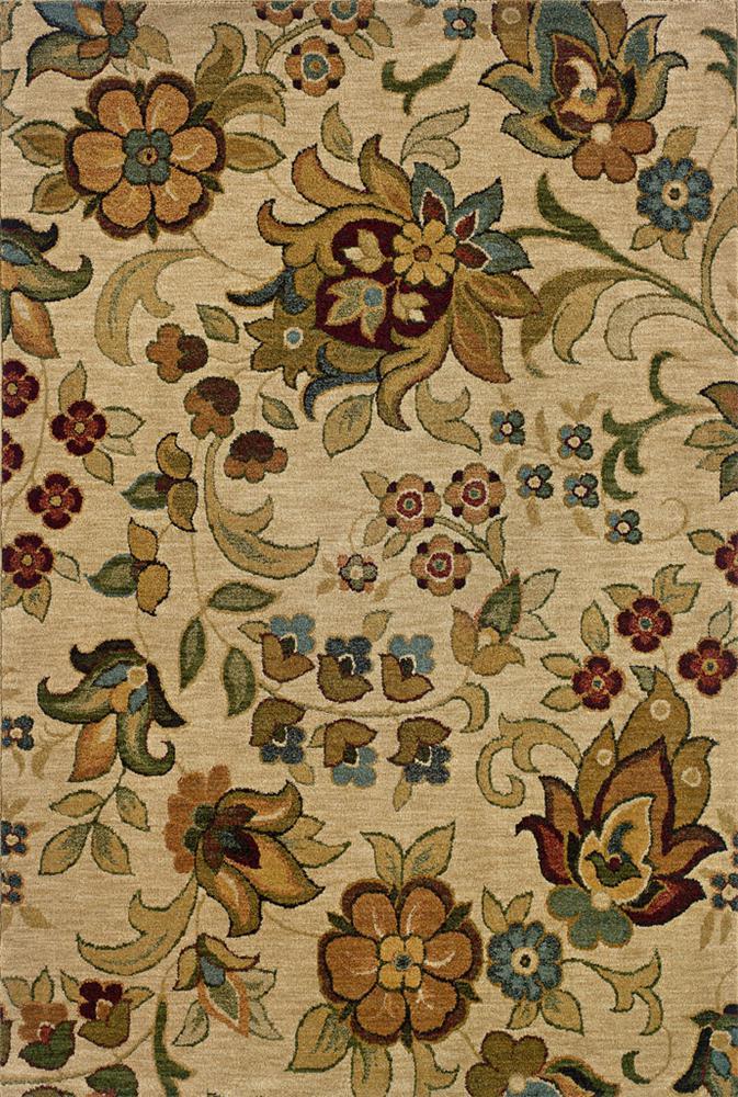 Oriental Weavers Inkus  10 x 13 Area Rug : Beige - Item Number: 969508284