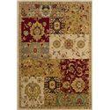 Oriental Weavers Inkus  5.3 x 7.6 Area Rug : Gold - Item Number: 969757154